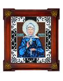 """Набор для вышивания """"Икона Святая Матрона Московская"""" Вышиваем бисером L56 (бисер)"""