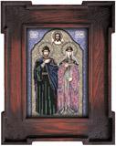 """Набор для вышивания """"Икона Святые Петр и Феврония"""" Вышиваем бисером L57 (бисер)"""