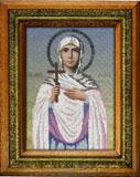 """Набор для вышивания """"Икона Святая мученица Лидия"""" Вышиваем бисером L63"""