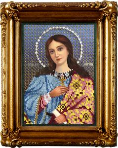 """Набор для вышивания """"Икона Святая Марина"""" Вышиваем бисером L64 (бисер)"""