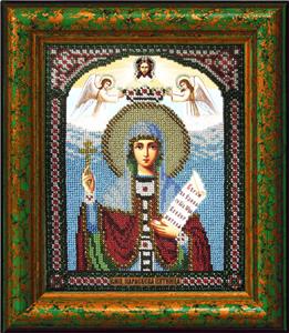 """Набор для вышивания """"Икона Святая Параскева-Пятница"""" Вышиваем бисером L70 (бисер)"""