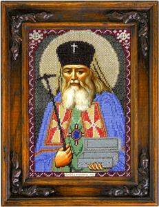 """Набор для вышивания """"Икона Святитель Лука"""" Вышиваем бисером L84 (бисер)"""