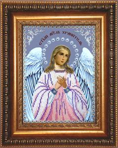"""Набор для вышивания """"Икона Ангел Хранитель"""" Вышиваем бисером L85 (бисер)"""