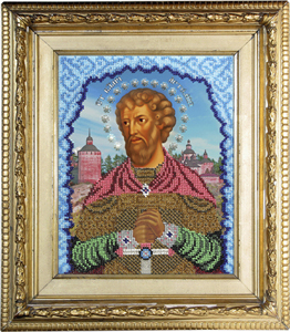 """Набор для вышивания """"Икона Святой Артем"""" Вышиваем бисером L86 (бисер)"""