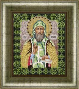 """Набор для вышивания """"Икона Святой Антон"""" Вышиваем бисером L87 (бисер)"""