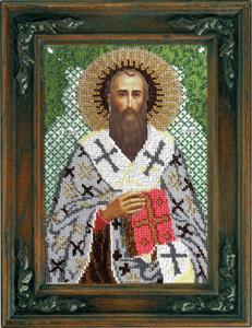 """Набор для вышивания """"Икона Святой Василий Великий"""" Вышиваем бисером L89 (бисер)"""