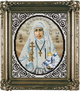"""Набор для вышивания """"Икона Святая Елизавета"""" Вышиваем бисером L94 (бисер)"""