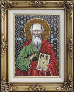 """Набор для вышивания """"Икона Святой Павел"""" Вышиваем бисером L96 (бисер)"""