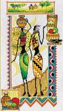 """Набор для вышивания """"Африка.Женщины и керамика"""" Панна НМ-0740 (крестик)"""