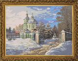 """Морозное утро"" Nova Sloboda РЕ 3317 (крестик)"