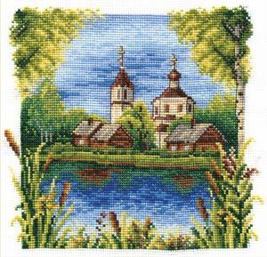 """Набор для вышивания """"Июль"""" Панна ПС-0194 (крестик)"""