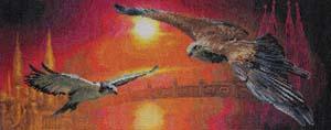 """Набор для вышивания """"Два неба"""" Панна ПТ-0326 (крестик)"""