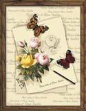 """""""Бабочки и розы"""" Риолис РТ-0001 (крестик)"""