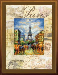 """Города мира. Париж"" Риолис РТ-0018 (крестик)"