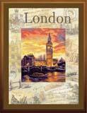 """""""Города мира. Лондон"""" Риолис РТ-0019 (крестик)"""