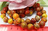 Бусина Варисцит оранж 10