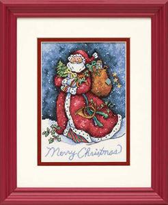 "Набор для вышивания DIMENSIONS ""Счастливого Рождества Санта"" DMS-08825 (крест)"