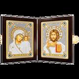 """Набор для вышивания """"Богородица Казанская и Христос Спаситель"""" НОВА СЛОБОДА СМ 7000 (бисер)"""