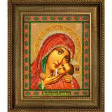 Рамка со стеклом №37 Касперовская Богородица 19,5х23,6 см