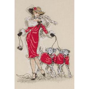 """Набор для вышивания """"Танцующие далматинцы"""" Maia 5678-1143"""