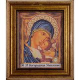 Рамка со стеклом №35 Богородица Умиление 17,6х22,1 см