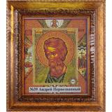 Рамка со стеклом №39 св Андрей Первозванный 19,5х23,2 см