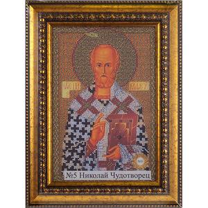 Рамка со стеклом № 5 Николай Чудотворец 17х25,1 см
