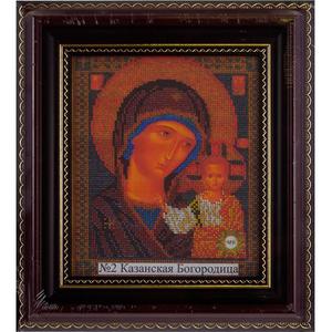 Рамка со стеклом № 2 Казанская 19,6х23 см