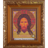 Рамка со стеклом № 3-Д Спас Нерукотворный 18,7х23 см