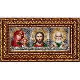 Набор для вышивания Вышивальная мозаика 173ПИ Мини-иконостас (бисер)