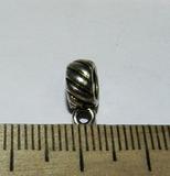 Бейл металлический серебристый 11х4х7мм