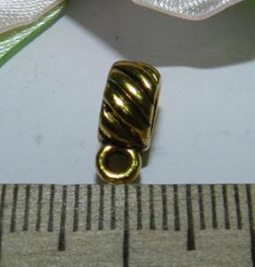 Бейл металлический золотистый 11х4х7мм
