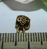 Бейл металлический золотистый 6х9х4мм