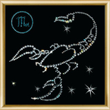 """Набор картина со стразами """"Скорпион"""" Чаривна Мить КС-005"""
