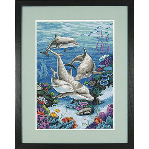 "Набор для вышивания DIMENSIONS ""Дельфинье царство"" DMS-03830 (крестик)"