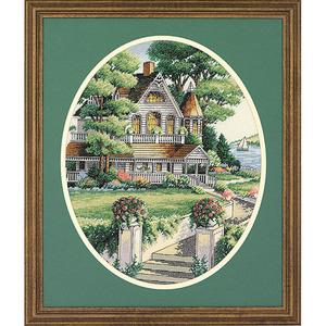 """Набор для вышивания DIMENSIONS """"Викторианский дом"""" DMS-03874 (крестик)"""