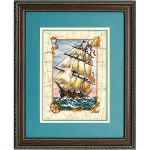 """Набор для вышивания DIMENSIONS """"Морской вояж"""" DMS-06847 (крестик)"""