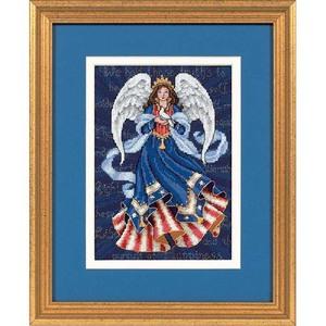 "Набор для вышивания DIMENSIONS ""Патриотический ангел"" DMS-06911 (крест)"