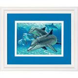 """Набор для вышивания DIMENSIONS """"Глубоководные дельфины"""" DMS-06944 (крест)"""