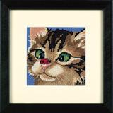 """Набор для вышивания DIMENSIONS """"Косоглазый котенок"""" DMS-07206 (гобелен)"""