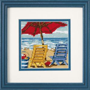 """Набор для вышивания DIMENSIONS """"Пляжный дуэт"""" DMS-07223 (гобелен)"""