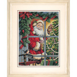 "Набор для вышивания DIMENSIONS ""Санта и леденец"" DMS-08734 (крест)"