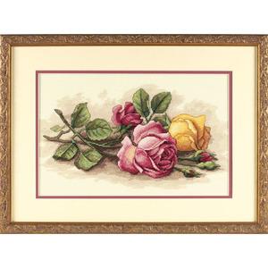 """Набор для вышивания DIMENSIONS """"Срезанные розы"""" DMS-13720 (крестик)"""
