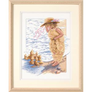 """Набор для вышивания DIMENSIONS """"Замки из песка"""" DMS-13730 (крестик)"""