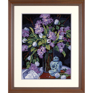 """Набор для вышивания DIMENSIONS """"Тюльпаны и сирень"""" DMS-20067 (гобелен)"""