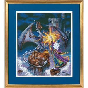 """Набор для вышивания DIMENSIONS """"Величественный волшебник"""" DMS-35080 (крестик)"""
