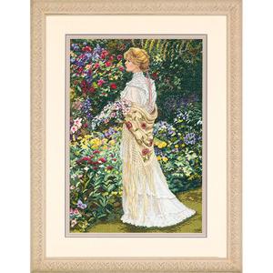 """Набор для вышивания DIMENSIONS """"В ее саду"""" DMS-35119 (крестик)"""