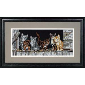 "Набор для вышивания DIMENSIONS ""Котята на заднем дворе"" DMS-35133 (крестик)"