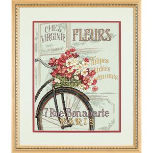 """Набор для вышивания DIMENSIONS """"Парижский велосипед"""" DMS-35195 (крест)"""