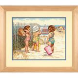 """Набор для вышивания DIMENSIONS """"Дети на пляже"""" DMS-35216 (крестик)"""